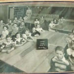 Central School Tecumseh 1954