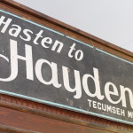 Haydens Mill Sign