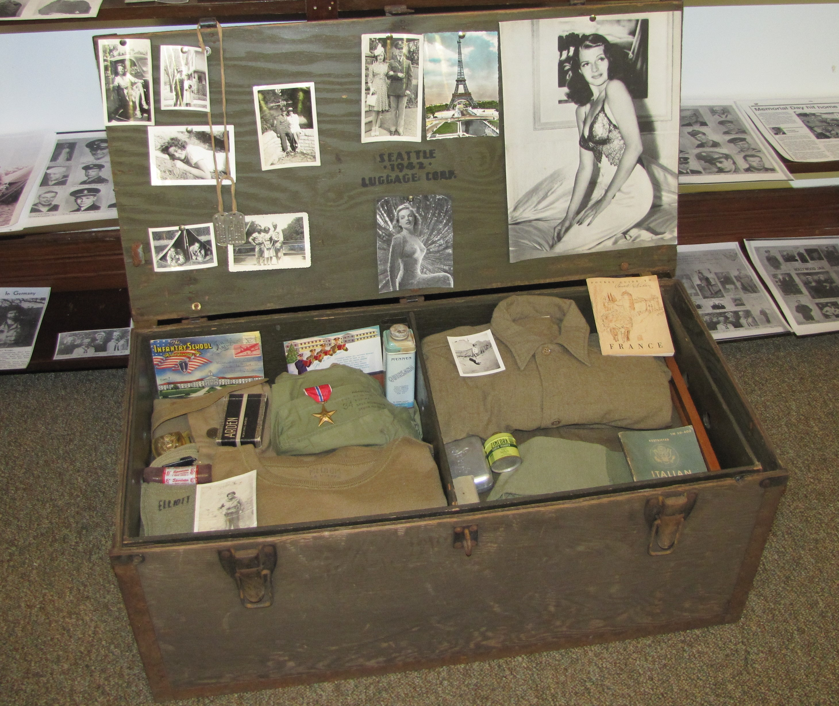 WWII Soldier Footlocker