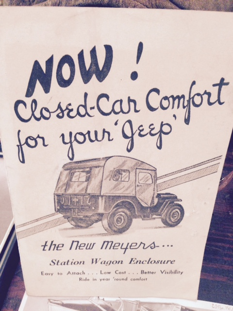 Meyers Jeep Cover