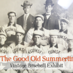 tecumseh vintage baseball exhibit