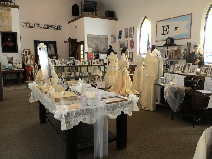 Maude Bell Brides displayed June 2016!
